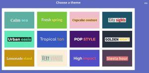 Lumen5 themes